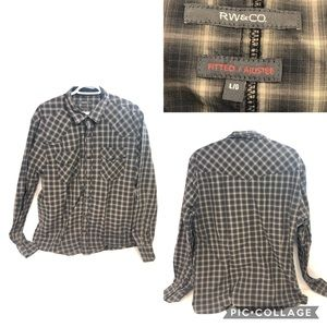 👕2For$50👕RW&CO Button Up